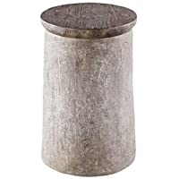 Progressive Furniture A183-68 Rocco Living Room Chairside Table, Grey