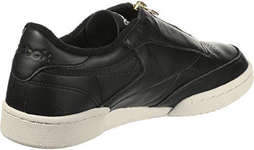 Chaussures W 85 C Zip Reebok Club Noir wSHgqXR