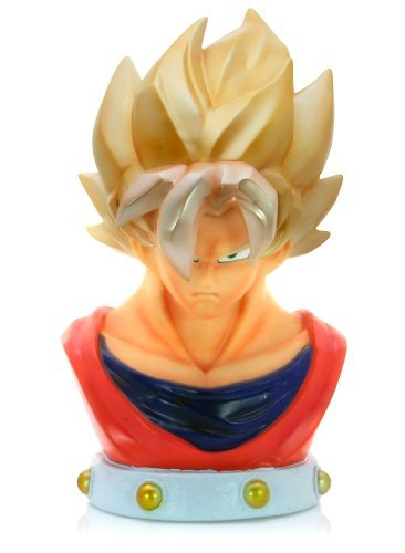 Super Saiyan Goku: DragonBall Z Coin Bank with Sound Effect (Japnese Import) (Super Teen Gohan Saiyan)