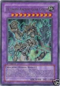 (Yu-Gi-Oh! - Ultimate Ancient Gear Golem (LODT-EN043) - Light of Destruction - 1st Edition - Ultra Rare)