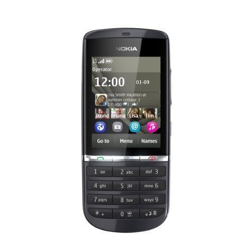 NOKIA ASHA 300 UNLOCEKD GSM 850/900 / 1800/1900 Graphite, International