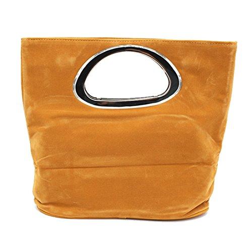 Handbag Bag Ladies Bag UNYU Clutch Casual Bag Black Evening Suede Suede Tote pEWwqwdSv
