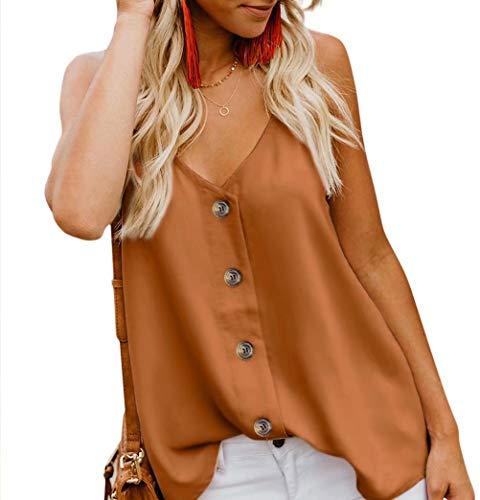 KAIDER Women Summer Tank Tops Tunic Blouse Sleeveless ()