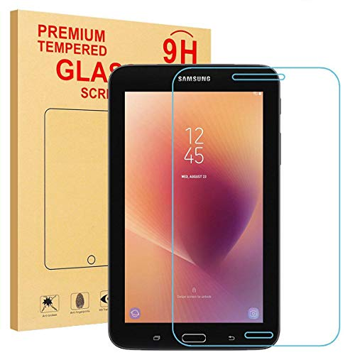 eTopxizu Glass Screen Protector for Samsung Galaxy Tab A 8.0 2017,Tempered-Glass Protector With 0.3mm 9H Hardness Crystal Clear Scratch-Resistant Bubble Free for Tab A 8.0 2017/SM-T385/T380 Tablet