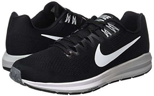 Grey cool Nike wolf para Negro Zoom Grey Structure Zapatillas Black 001 Air Hombre Running 21 de White 66rHOwxq