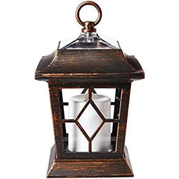 "Amazon.com: zkee 11"" Vintage Style Decorative Lantern"