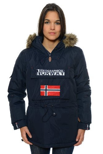 Geographical Femme Parka Bulbeuse Norway Marine Uw1CqnHU