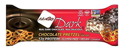 NuGo Dark Chocolate Pretzel, 1.76-Ounce (Pack of 12)