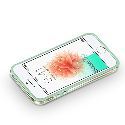 BaseZip - iPhone SE - SuperSlim Bumper TPU Hybride pour iPhone SE