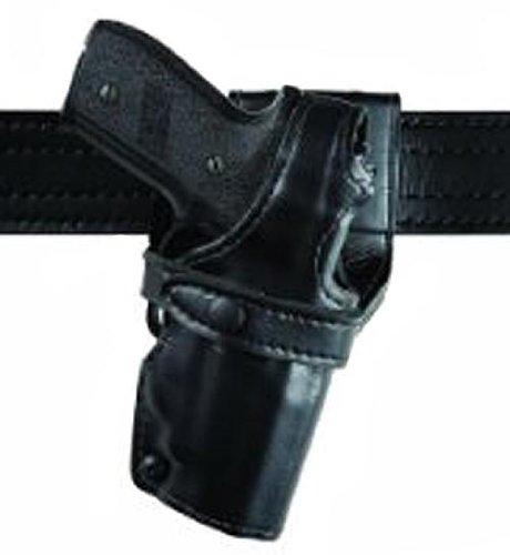 Safariland 0705 Level III 1.5-Inch Drop Retention Duty Holster, Low Ride, Black, Plain Right Hand, (Safariland 0705 Duty Holster)