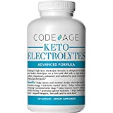 Keto Electrolyte Capsules - 180 Count - Energy Supplement for a Low Carb Diet or Keto Diet, Rehydration & Recovery, Eliminates Fatigue and Promotes Weight Loss! Sodium, Calcium, Potassium & Magnesium