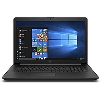 HP 17-inch Laptop, Intel Pentium Silver N5000 Processor, 4 GB RAM, 1 TB Hard Drive, Windows 10 Home (17-by0010nr, Black)