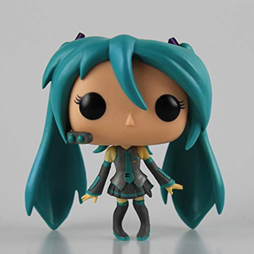 ZJWA 1 Uds Funko Pop Hatsune Miku Kagamine Gemini 12 9 16CM Hatsune The Child Juguete Coleccionable, Multic