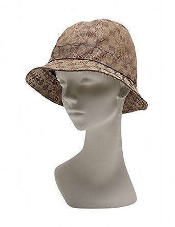 buy popular a08d4 a9214 Amazon | (グッチ) GUCCI 帽子 ハット GGキャンバス ベージュ ...