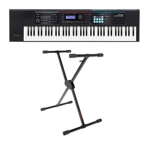 Roland JUNO-DS Series 76-Key Synthesizer - Bundle With KS-10X Single Brace Keyboard X-Stand by Roland