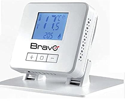 Termostato digital inalámbrico Bravo 93003103
