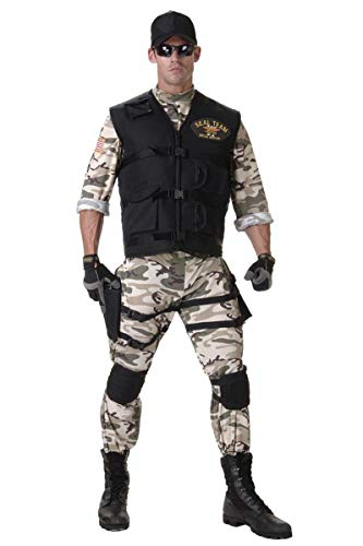 Seal Team Adult - Standard Costume]()