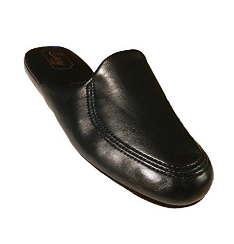 Easy Usa Heren Navy Scuff Huis Slippers (7)