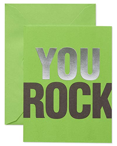 American Greetings Boxed Stationery, Green Thank-You Cards and Colored Envelopes, 10-Count
