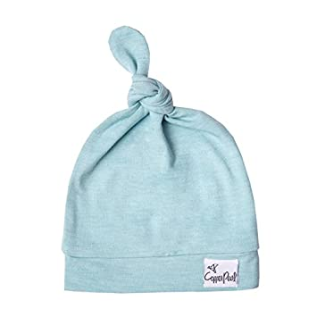 Image Unavailable. Image not available for. Color  Baby Beanie Hat Top Knot  ... 0ec8b25beb3