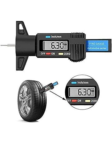 Measuring Gauges 2 x Tyre Tread Depth Tool Car Van Truck Scooter Motorbike