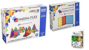 Magna-Tiles Clear Colors 100 Piece Set (Limited Edition Set)