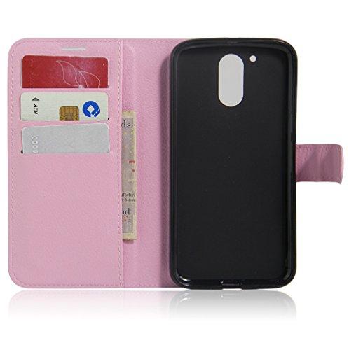 Funda Motorola MOTO G4,Manyip Caja del teléfono del cuero,Protector de Pantalla de Slim Case Estilo Billetera con Ranuras para Tarjetas, Soporte Plegable, Cierre Magnético F