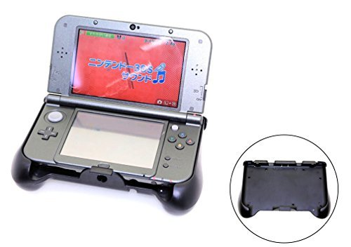Aweek Charge Controller&Handle Grip Case for 3DS LL XL Host Rechargeable Protective Handle Grip with Working and Charging Indicator+USB Cable