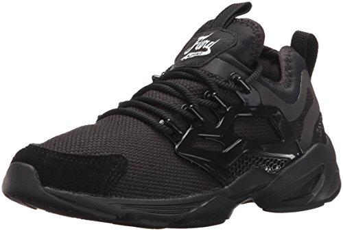 Reebok Women Fury Adapt Fashion Sneaker Black/White