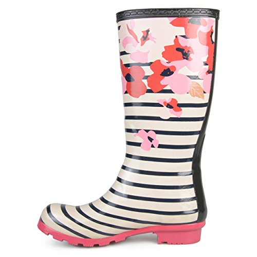 Womens Rain Brinley Boots Patterned Stripe Rubber Co Mizzle UwqXq5Z