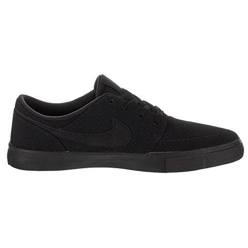 Nike Mens Sb Portmore Ii Zonne Cnv Zwart Zwart Maat 5.5