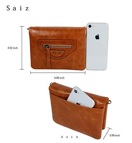 794dc9fa53ba allx Shoulder wallet Women Rfid Blocking (Brown)