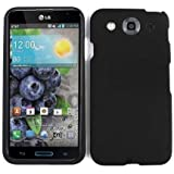 LG Optimus G Pro E980 Rubberized Hard Case Cover Non Slip Black A008-G
