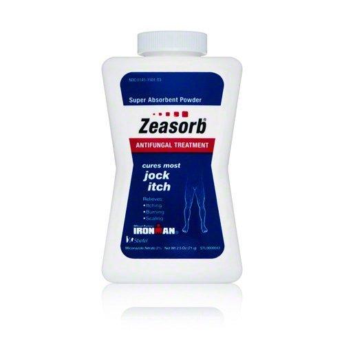 Zeasorb Super Absorbent Antifungal Treatment Powder for Jock Itch 2.5 (Super Absorbent Powder Antifungal)