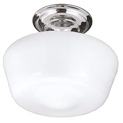 World Imports Lighting Luray 1-Light Semi-flush Light Fixture