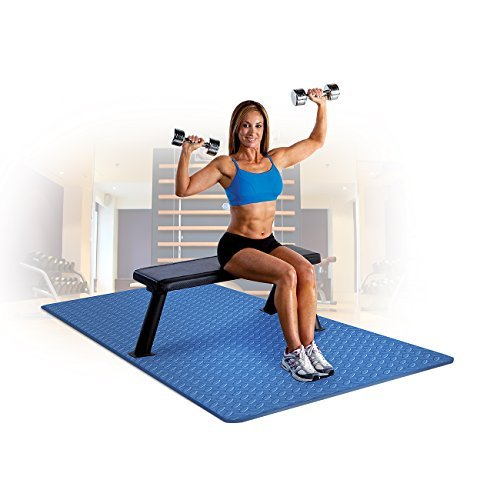 Sivan Health and Fitness Anti Fatigue Grip Mat Roll – Exercise Mat EVA Foam