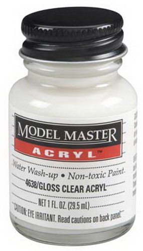 4638 Gloss Clear Acrylic FM02017 1 oz by Testor Corp. ()