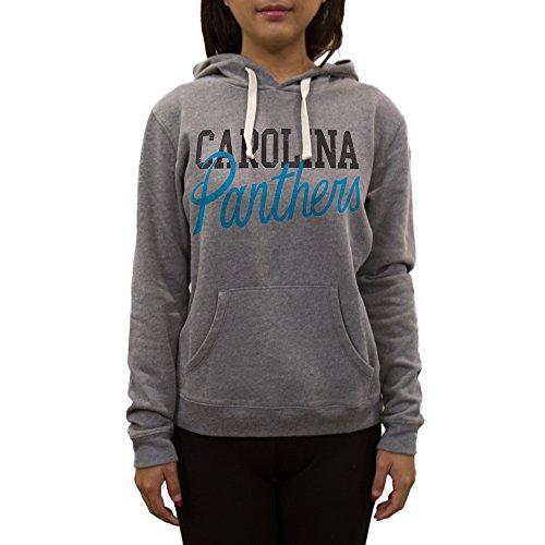 NFL Carolina Panthers Women's Sweatshirt, X-Large, Medium Heather Grey