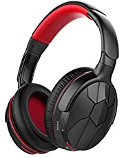 Mixcder Spider Wireless Headphones, Bluetooth 4.0 Cordless Stereo Headsets with Mircophone, Over ear, Lightweight, Soft Memory-Protein Earmuffs and Wired Mode for PC/TV/Cell Phones