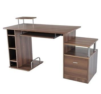 mesa pc ordenador xxcm de madera e mdf escritorio oficina dormitorio hogar escuela