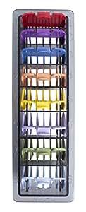 Wahl 3170-800 - Peine-guía, 8 unidades, multicolor