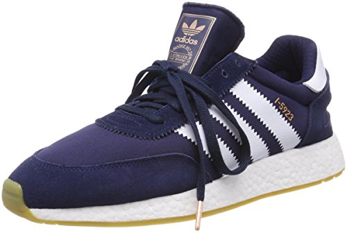 adidas Uomo Gum Iniki Collo Blu Footwear a White Basso Sneaker Collegiate Navy Runner UUFqrY