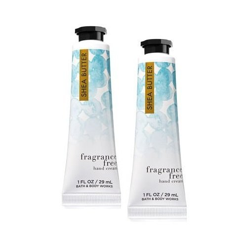 Bath and Body Works 2 Pack Fragrance Free Shea Butter Hand C