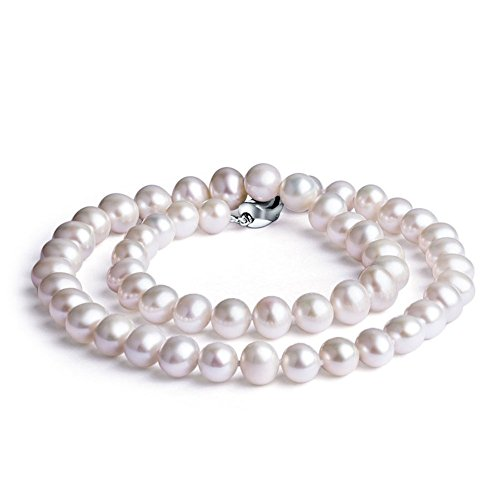 8mm 9mm Cultured Pearl Necklace - 6