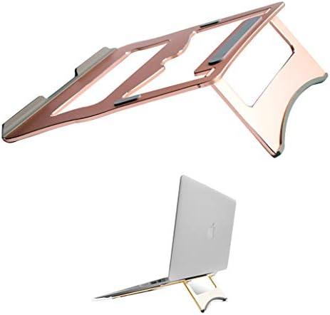 ノートブックのアルミ合金ブラケット、デスクトップコンピューターは、ポータブル棚を折りたたむラックラジエーターを増加 安定した熱放散、折りたたみ式、ポータブル (Color : A)