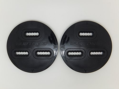 Burton New Snowboard 3 Hole Binding Mounting Disk's Disc's Plates -