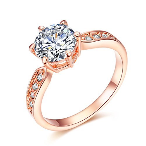 NEWBARK Plated Crystal Promise Wedding