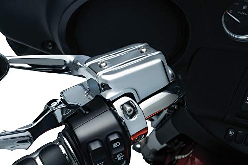 Kuryakyn 1739 Motorcycle Handlebar Accessory: Complete Chrome Replacement Brake and Clutch Control Dress-Up Kit for 2014-16 Harley-Davidson Touring -