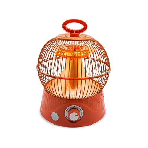 OlogyMart 220V 900W Mini Ventilador del Calentador de Aves de Ahorro de energía del hogar Jaula Forma de Abanico Calentador eléctrico