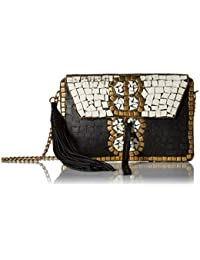 Women's Saksia Mosaic Box Clutch